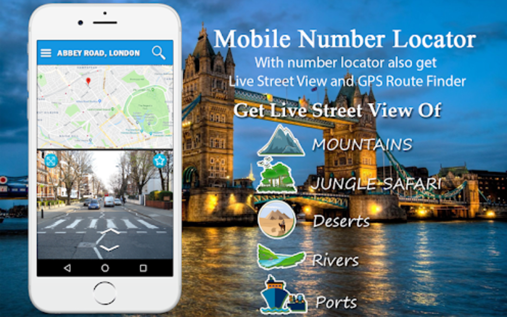 GPS Phone Tracker Number Locator Mobile Tracking for Android