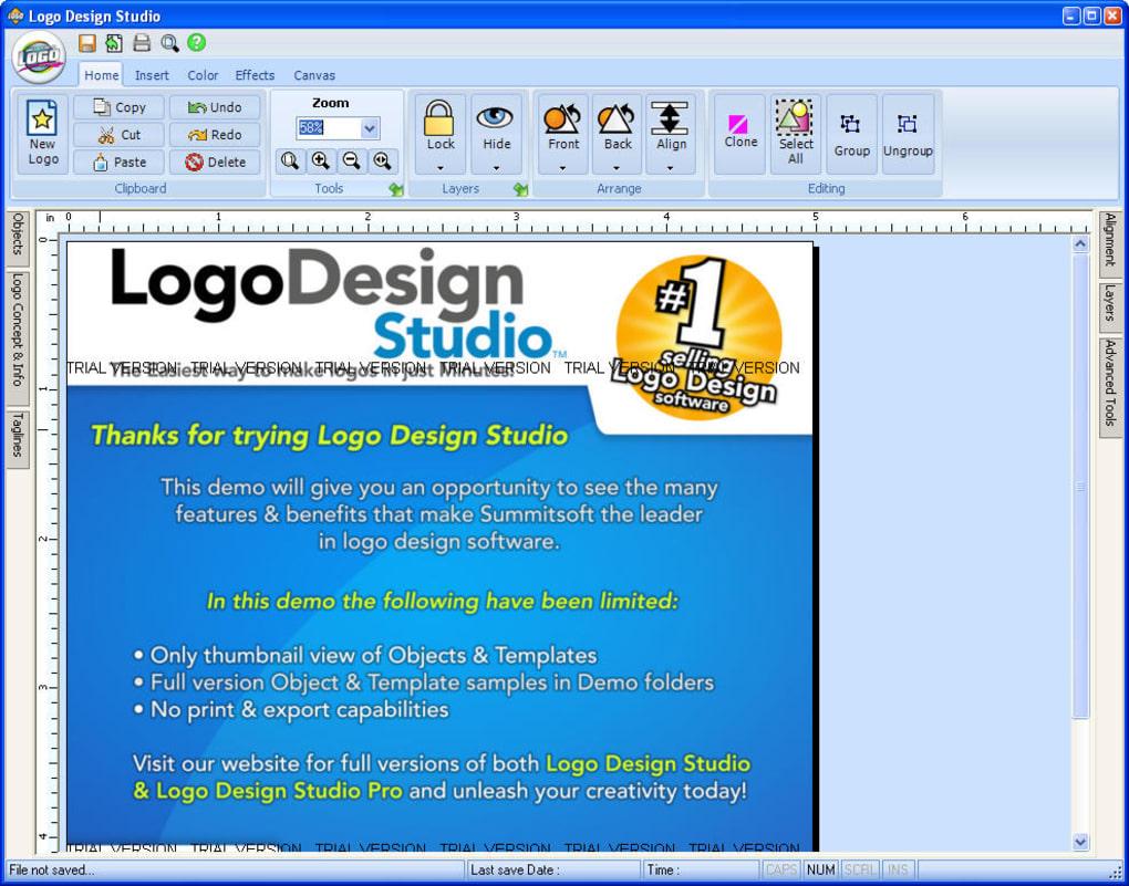 Logo design studio software free trial