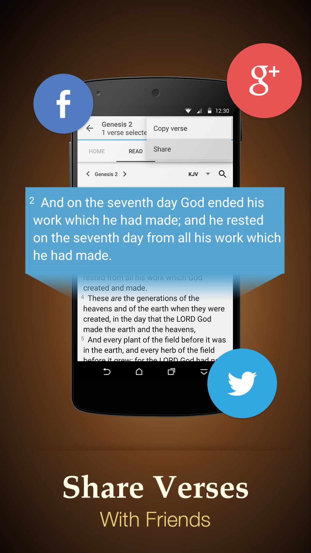 Bible - KJV,NIV and etc   for Android - Download