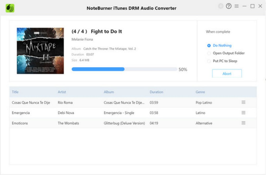 noteburner apple music converter review
