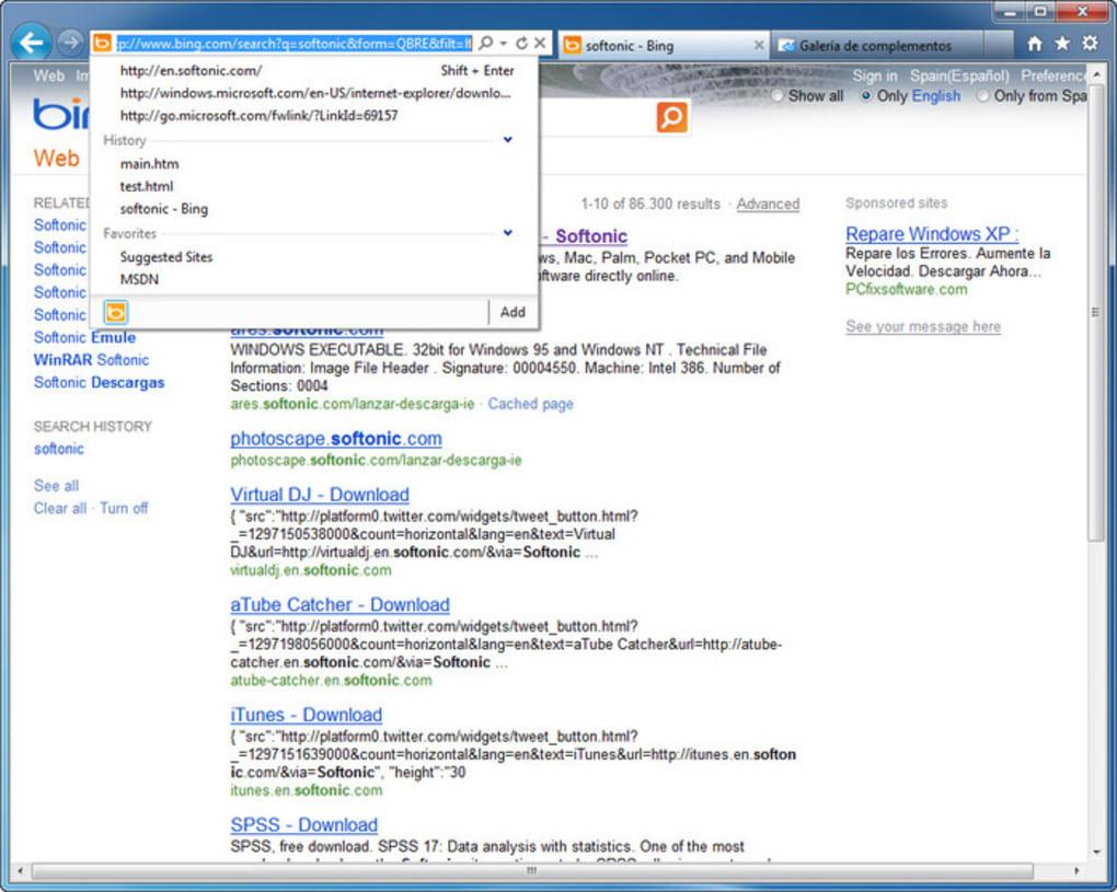 descargar internet explorer 9 64 bits windows 7 español