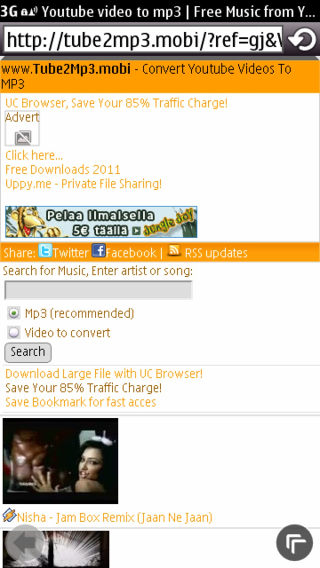 Tube2mp3 for Java - Download
