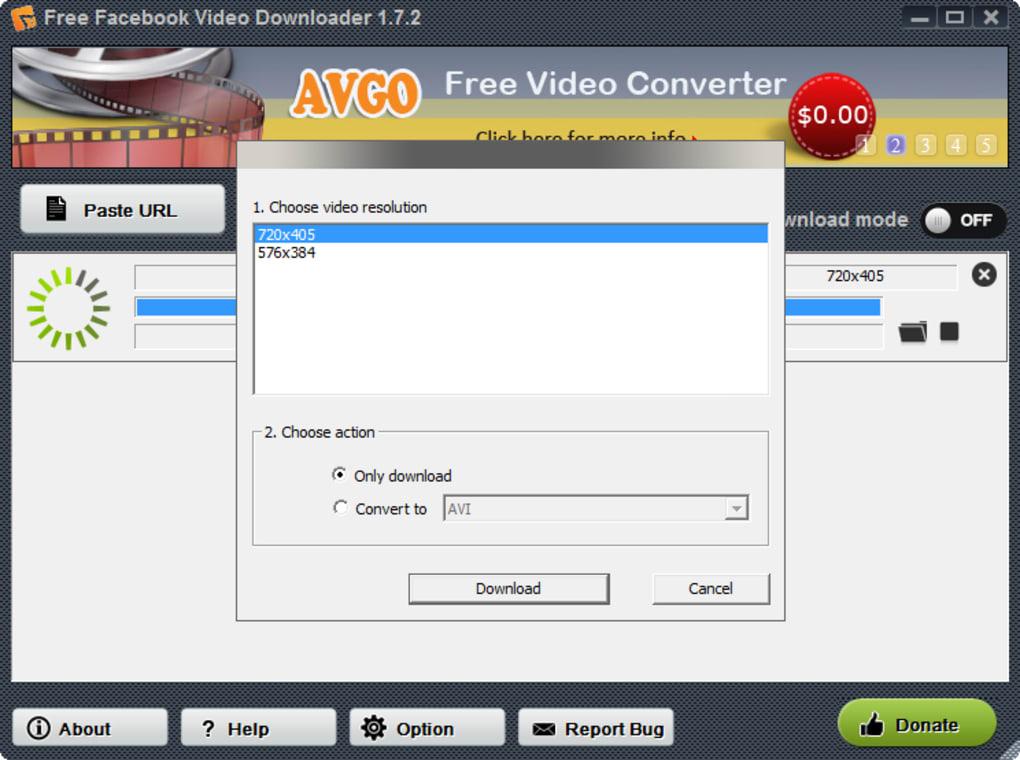 Proxfree video downloader