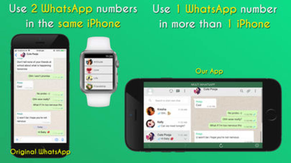 2 whatsapp in 1 iphone download