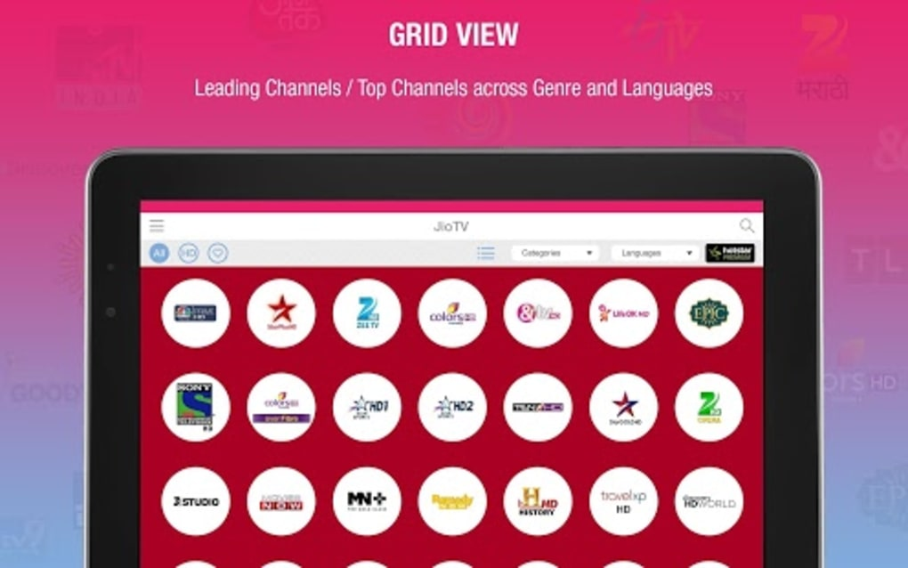 JioTV Live Sports Movies Shows for Android - Download