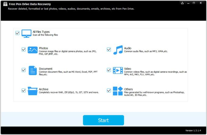 Free Pen Drive Data Recovery