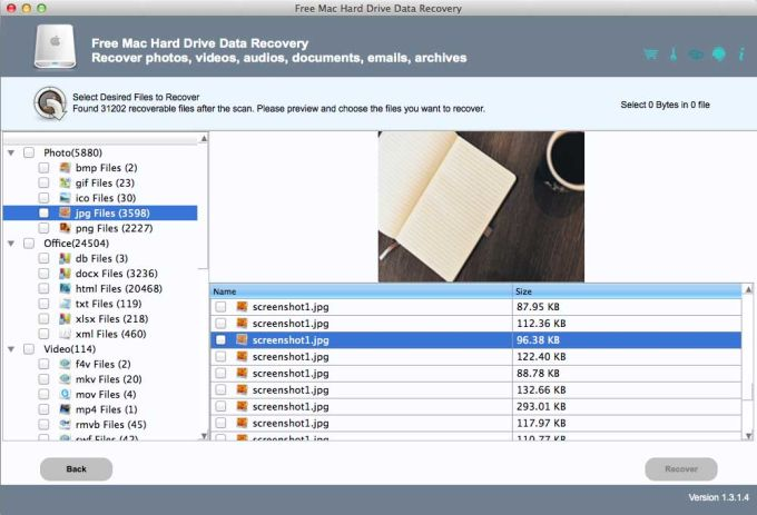 Free Mac Hard Drive Data Recovery