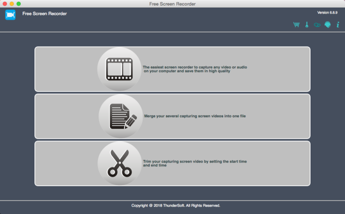 Free Screen Recorder for Mac