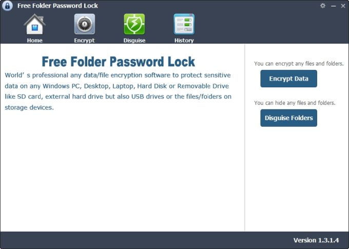 Free Folder Password Lock