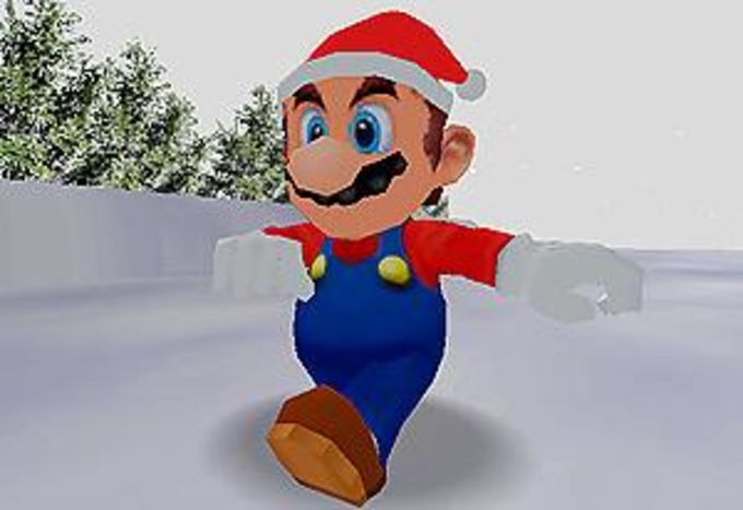 Super Mario Claus