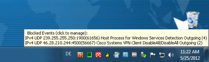Windows 7 Firewall Control