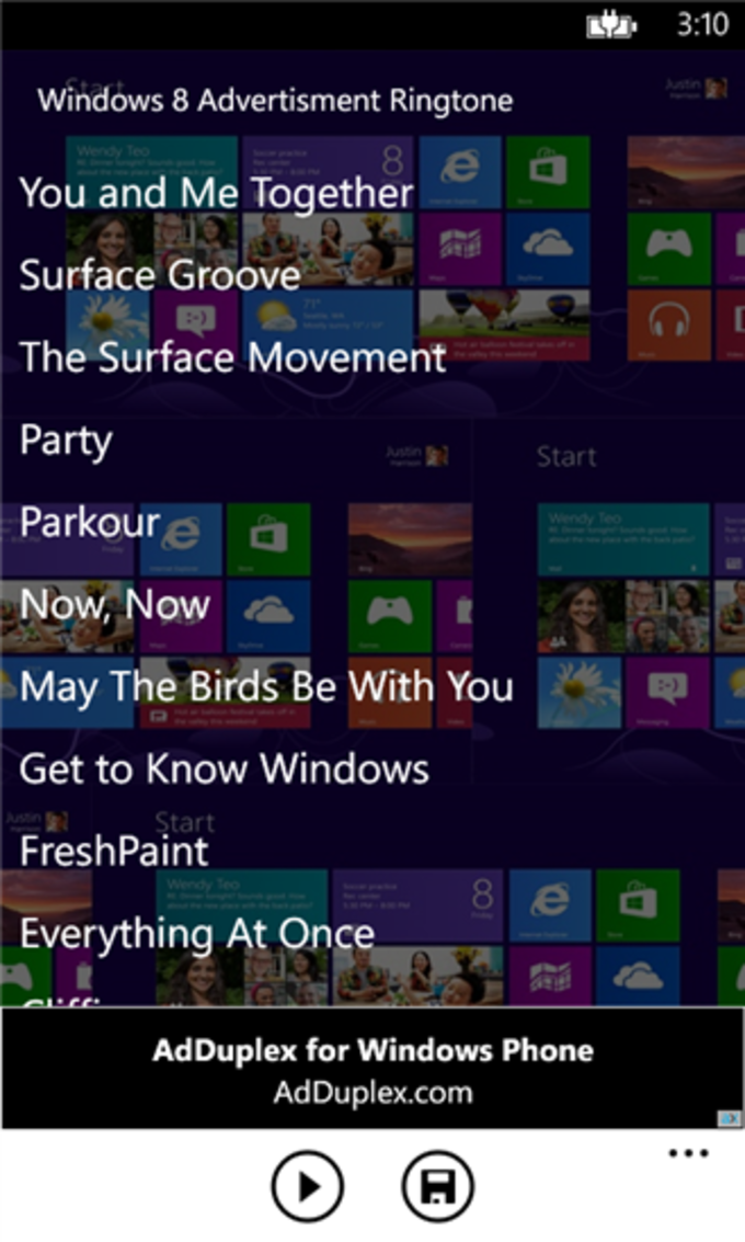 Windows 8 Ringtone