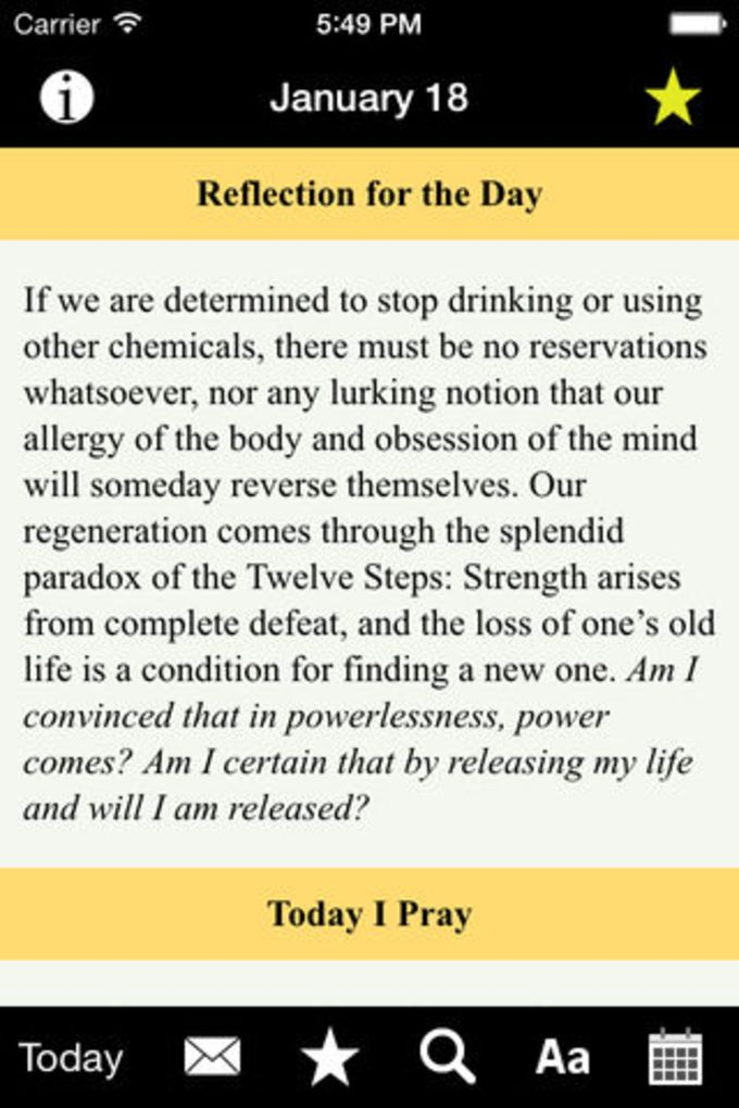 A Day at a Time Meditations