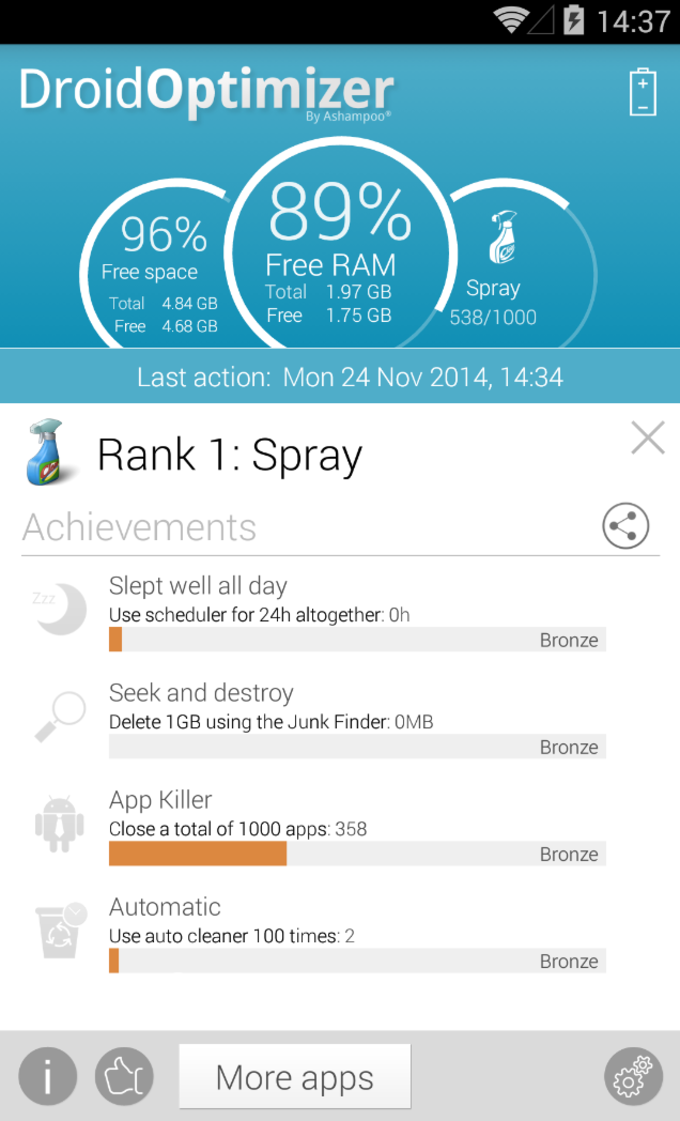 Ashampoo Droid Optimizer