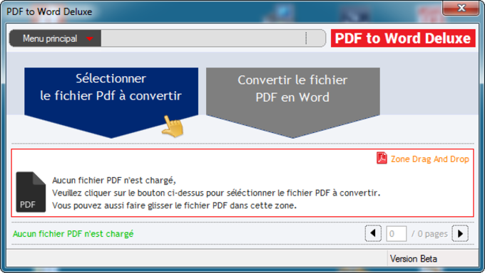 PDF to Word Deluxe