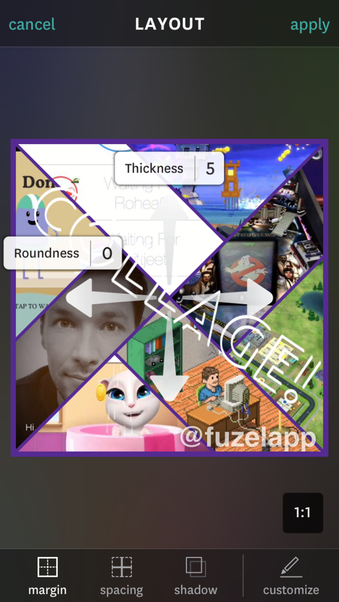 Fuzel Collage