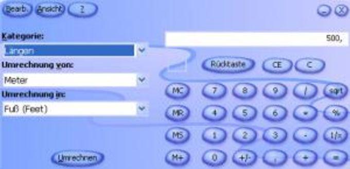 Microsoft Rechner-Plus