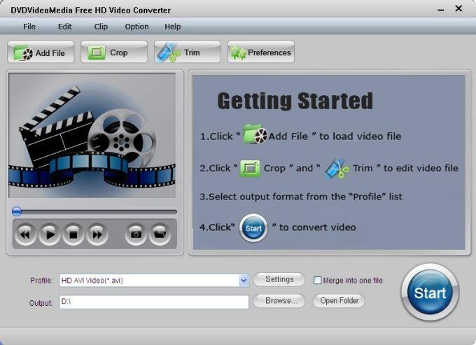 Free HD Video Converter
