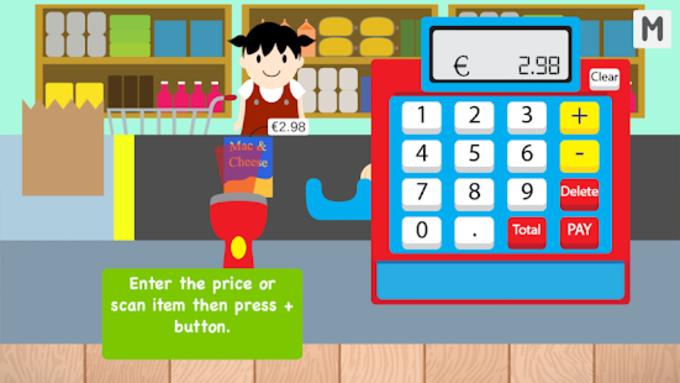 Kids Cash Register Grocery Free