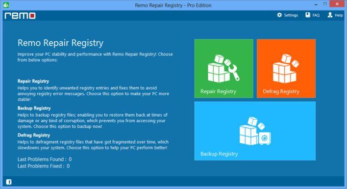 Remo Repair Registry