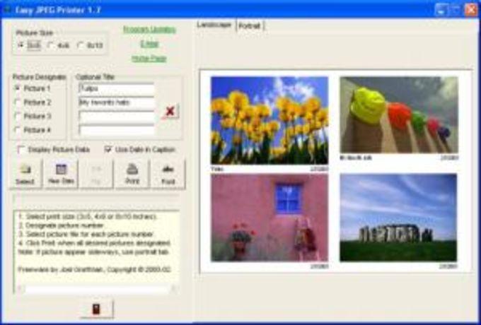 Easy JPEG Printer
