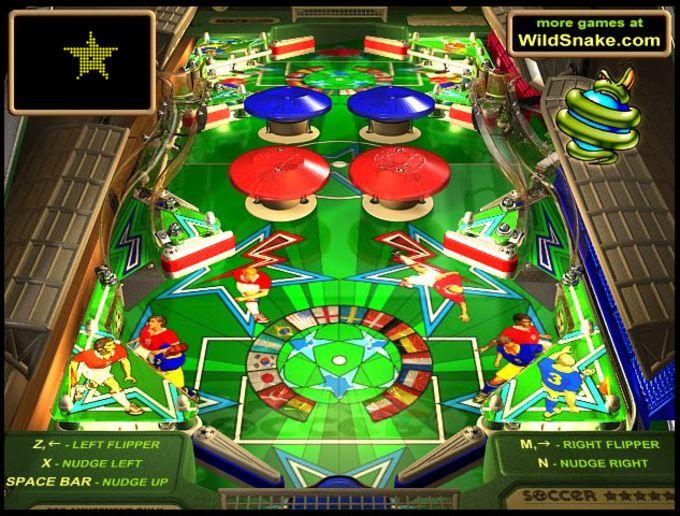 Online Pinball Soccer Stars