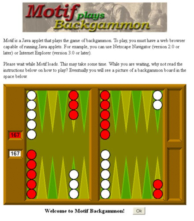 Motif Backgammon