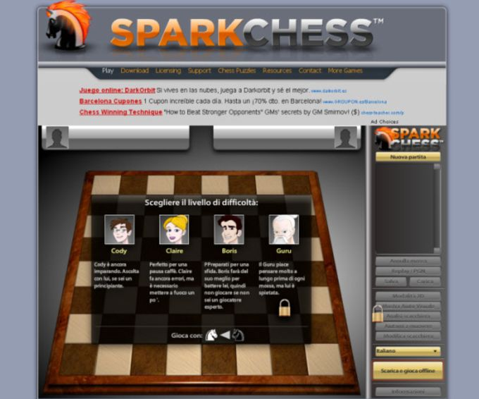 SparkChess