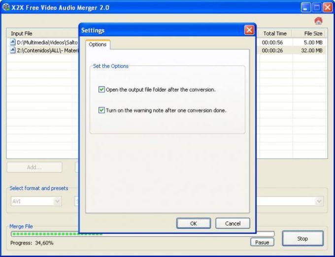 X2X Free Video Audio Merger
