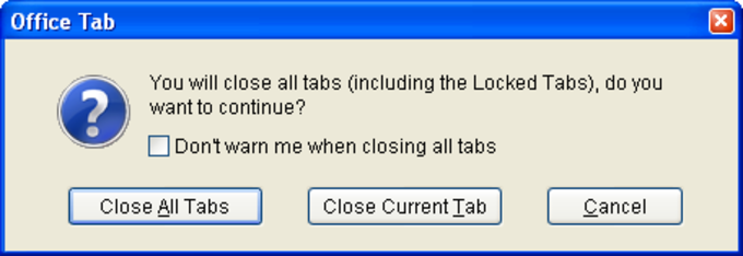 Office Tabs