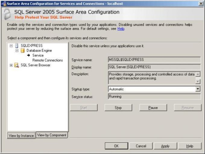 Microsoft SQL Server 2005 Express Edition