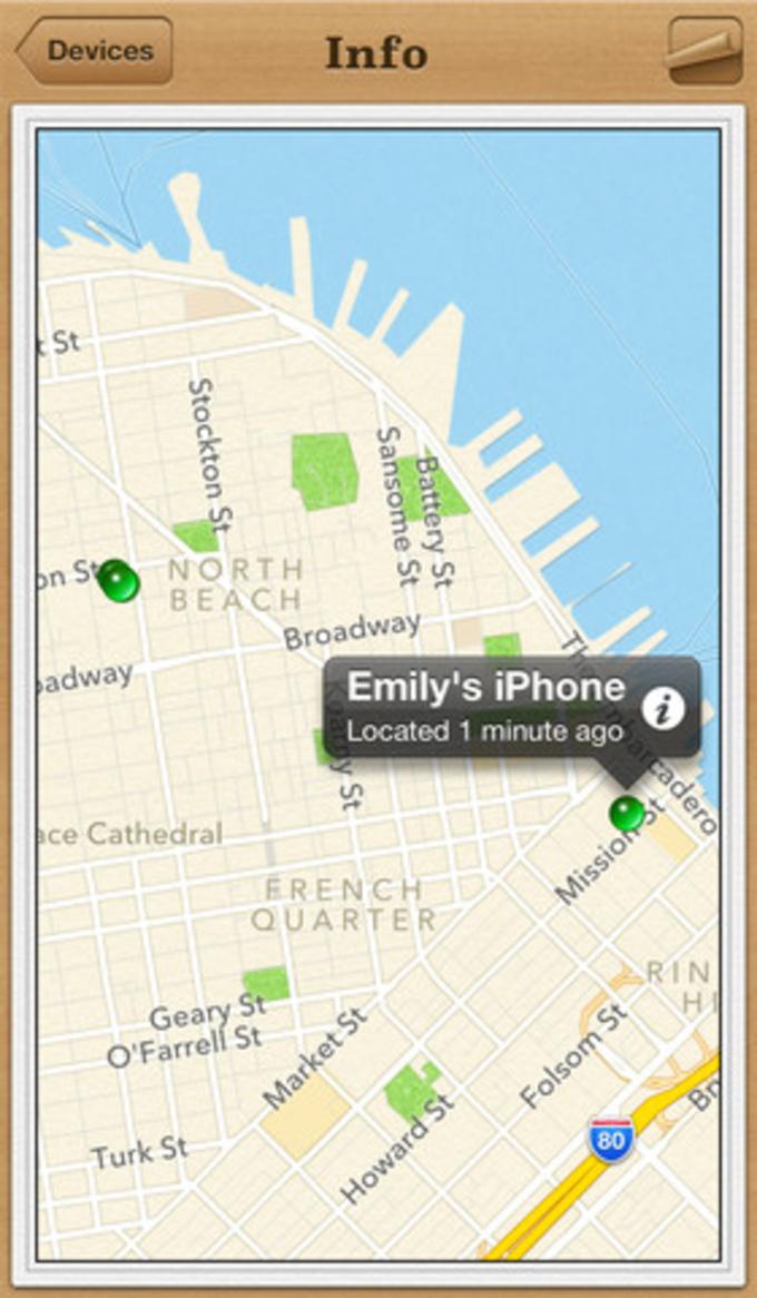 Znajdz iPhone