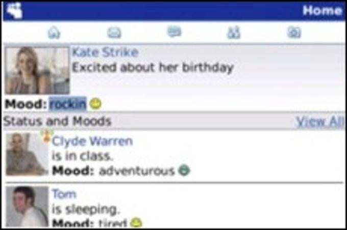 MySpace for BlackBerry