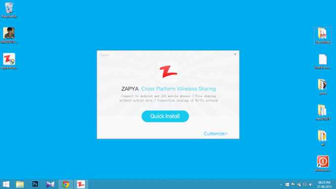 Zapya - File transfer tool