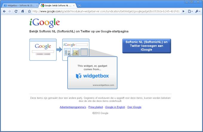 Widgetbox