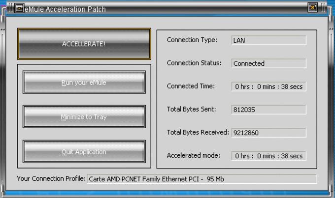 eMule Acceleration Patch