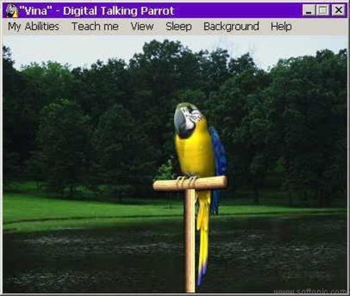 Vina Digital Talking Parrot