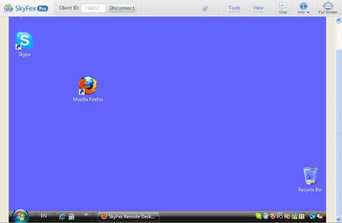 SkyFex Remote Desktop