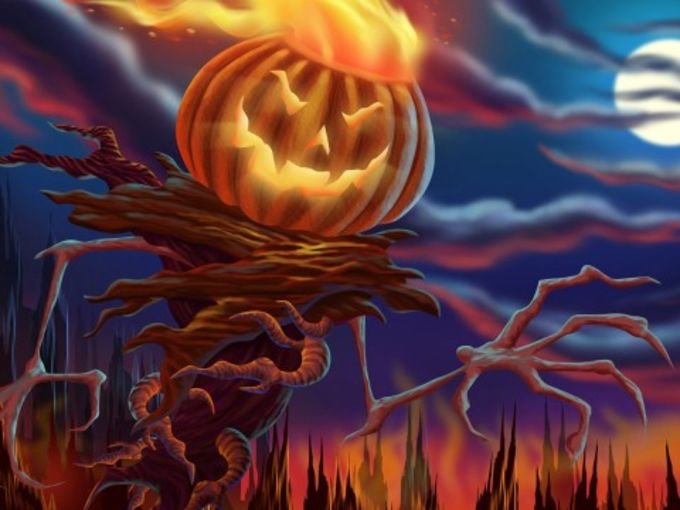 Free Halloween BlackBerry Wallpaper