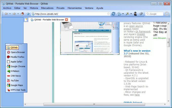 QtWeb Internet Browser - Download