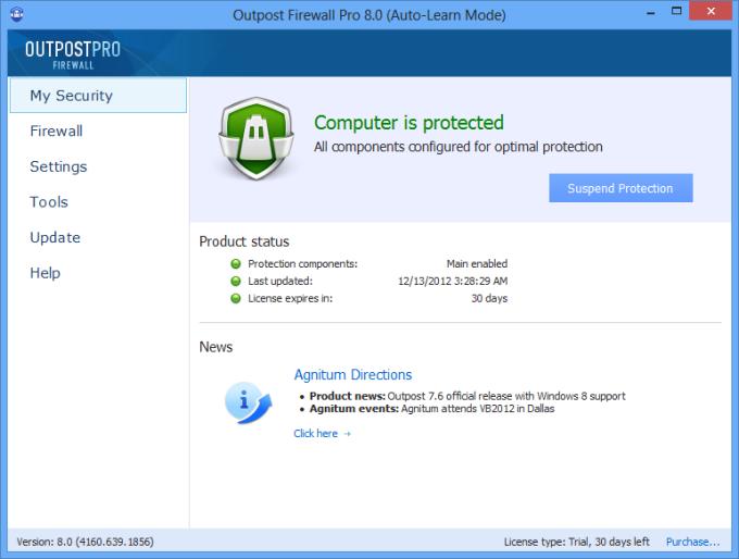 Agnitum Outpost Firewall Pro (64-bit)