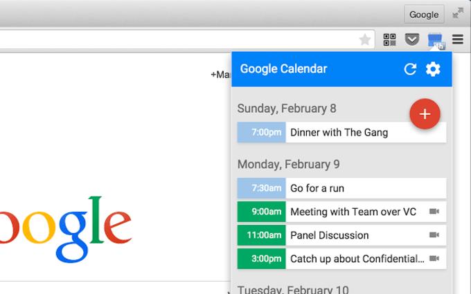 Google Calendar (by Google)