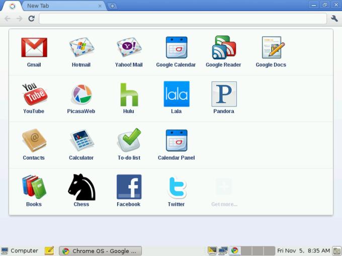 Chrome OS Linux