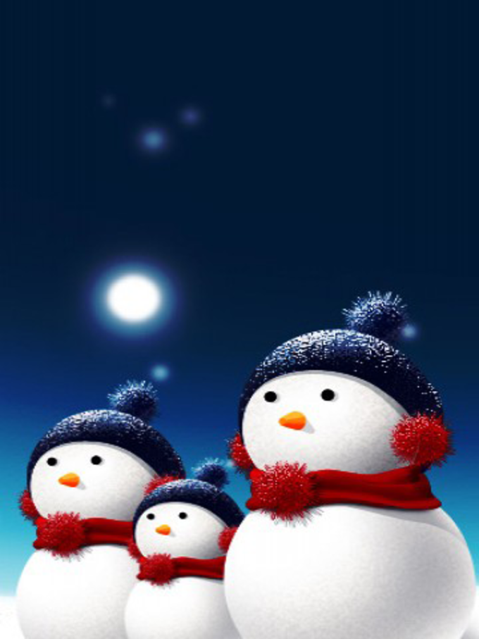 Christmas Themes for BlackBerry Storm