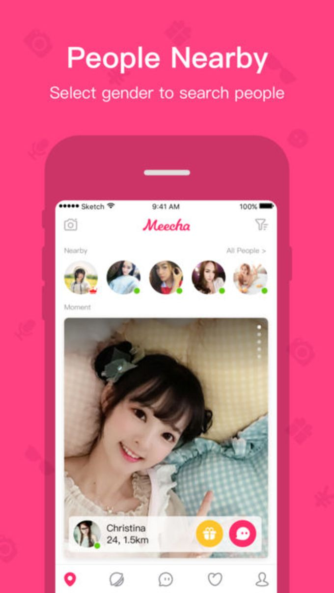 Meecha - Meet People Nearby for iPhone - Download