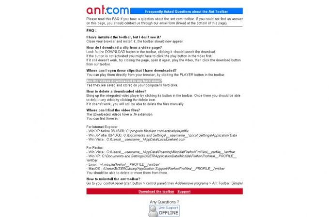 Ant.com Video Downloader