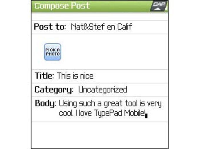 TypePad Mobile