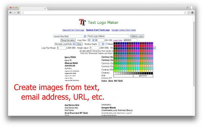 Text Logo Maker