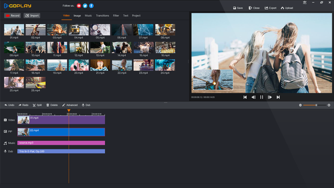 GoPlay Video Editor