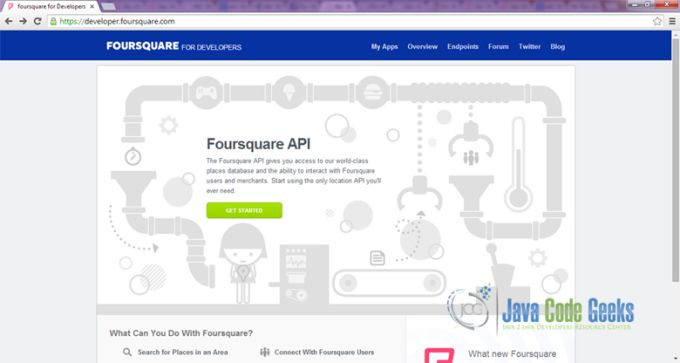 Foursquare Developers